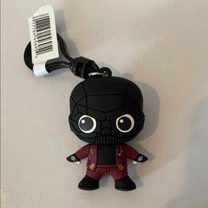 Black Mask Keychain